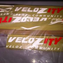 Cutting Sticker VELOZITY COMMUNITY  IMG00746 20120630 1135