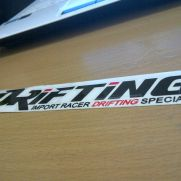 JDM Style Sticker drifting special