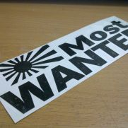 JDM Style Sticker japan most wanted