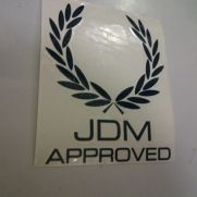 JDM Style Sticker jdm approved perry