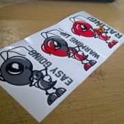 JDM Style Sticker marq easy going