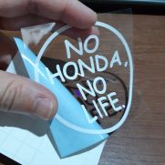 JDM Style Sticker no honda outline