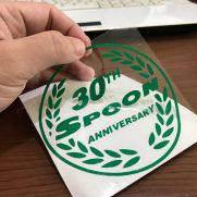 JDM Style Sticker spoon 30th