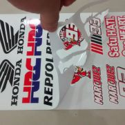 Biker Decal sticker set honda