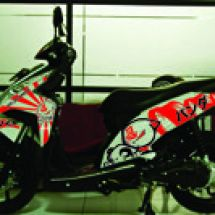 Motorcycle Graphic  vario C