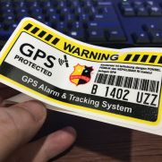 JDM Style Sticker vehicle GPS